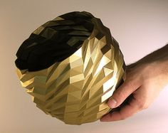 Enjoy a serene and meditative vase made with 3d printing. This design came about…