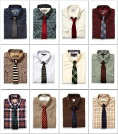 Button Downs and Ties