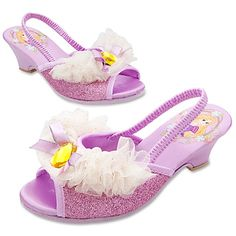 Dressy Wedding Rapunzel Slippers for Girls $16.50