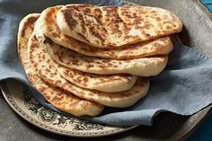 Naan is an easy flatbread you can make at home. Recipes With Naan Bread, Ginger Chutney, Chai Recipe, Indian Cookbook, Perfect Pizza, Fried Fish Recipes, Food Festival, Indian Food Recipes, Mexican Recipes