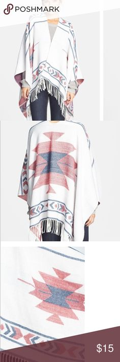 BP poncho Perfect poncho for fall! Very cozy bp Jackets & Coats Capes