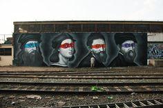 Renaissance Masters, Keith Haring and Ninja Turtles in Brooklyn Streets|Jaime Rojo & Steven Harrington