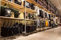 Up-Cycled - Chrome Industries' Minneapolis Hub store