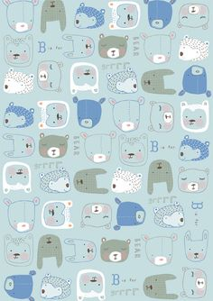 Wallpaper Cute Pattern Illustrations Ideas For 2019 Motifs Textiles, Textile Patterns, Cute Pattern, Pattern Art, Kids Patterns, Print Patterns, Designers Gráficos, Arte Sketchbook, Blog Deco