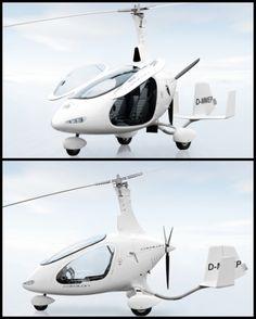 Autogyro Cavalon, winner of Red Dot award for product design.