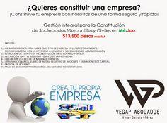 Tu #empresa , tu #negocio rápido y fácil con #VEGAP #Abogados - Google+  contacto@vegap.com.mx