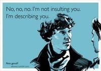 Não, não, não! Não estou ofendendo você, estou te descrevendo ! HAAHAHAHAHHAHAHAHAHAH'