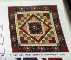 """Connecting Threads Victorian Parlor TABLE SQUARE KIT 