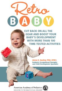 Peds OT Tips: Win a copy of the parenting book, Retro Baby!!!!
