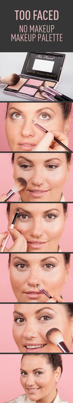 I want this! What Makeup? A Review Of Too Faced's No Makeup Makeup Palette