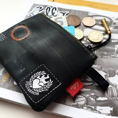 SHAVING BAG CASE in 3 COLORS from Sustainable Bicycle Inner Tube FREE DELIVERY