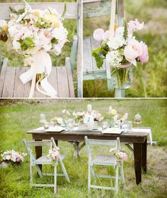 1940's INSPIRED WEDDING TABLES | Pretty + Playful: A Vintage Style 1940s Inspired Wedding Theme