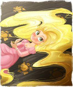 Rapunzel by Angelika-san.deviantart.com on @DeviantArt