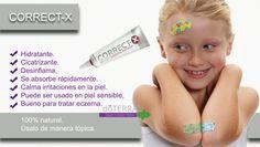 Para raspones, heridas, moretones, Correctx es ideal doTERRA