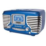 rockabilly retro radio. I think I'd want a different color, but I love this!
