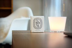 Diptyque candle Tubereuse