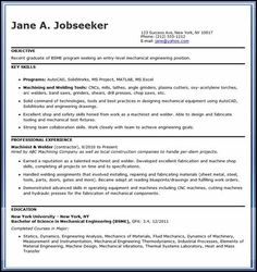 entry level engineering resume must be written excellently using powerful words and easy to understand format