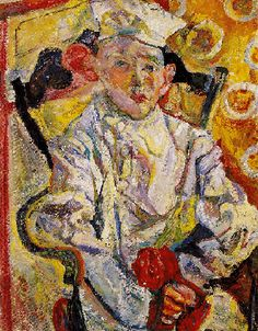 soutine paintings | Soutine, Chaim (1894-1943) - 1919c. The Pastry Chef | Flickr - Photo ...