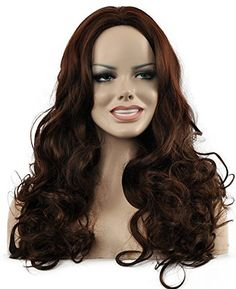 Diy-Wig Long Body Wave Brown Wig Women's Cosplay Party or…