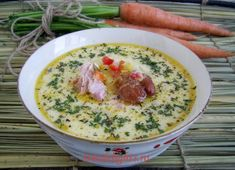 Transylvanian soup with smoked Pork Soup, Chili Soup, Romania Food, Soup Recipes, Cooking Recipes, Good Food, Yummy Food, Smoked Pork, Soups And Stews