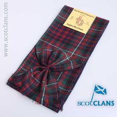 MacDonnell of Glengarry Tartan Mini Sash from ScotClans
