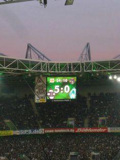 Borussia Mönchengladbach vs. Werder Bremen