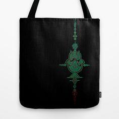 geometric hamsa  Tote Bag by Our Folk Life - $$