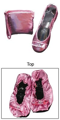 Great for any Princess!  -- Pink Spare Soles® -- beautiful and purchase benefits animal rescue via The Animal Rescue Site