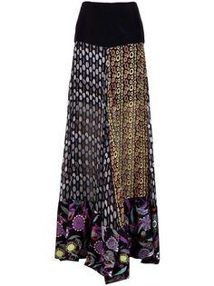Print+Long+Skirt+Style | CHER MICHEL KLEIN - long print skirt 6 | my style