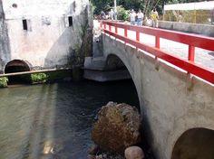 Reconstrucción Puente san marcos Veracruz . INAH. MASAROCA