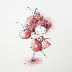 Shirley is # 2 of my rainbow of girls 🌈named after my favorite drink when I was little. I didn't drink soda very often, but when I did, it was a Shirley Temple 😉 🍒Cherry season is coming guys! 🍒 I can't waaaaiiit! Cherry Season, Girl Names, Cute Illustration, Snoopy, Rainbow, My Favorite Things, Soda, Temple, Fictional Characters
