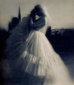 Wedding Dress Art by American Jewish Photographer, Lillian Bassman