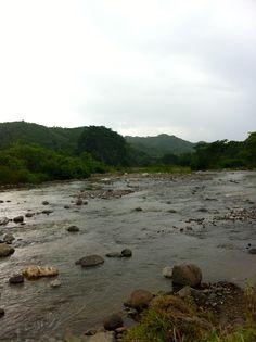 the river  San Pedro Sula, Honduras