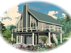 This would be an excellent first home for me! http://www.thegarageplanshop.com/6179/plan-detail//006g-0083.php