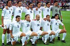 Che #Italia ad Euro2000: Maldini,Iuliano,Fiore,Delvecchio,Nesta,Toldo;Cannavaro,Totti,Di Biagio,Pessotto,Albertini.