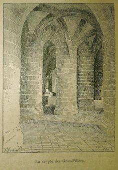 H. Voisin - La Crypte des Gros-Piliers
