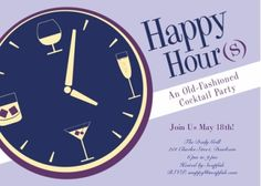 Happy Hour Wedding Shower Invitation (Printable) on Etsy, $15.00 ...