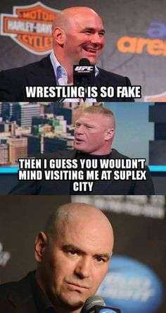 Well that shut him up! Funny Wrestling, Wrestling Quotes, Wwe Funny, Hilarious, Wwe Quotes, Golf Quotes, Brock Lesnar Wwe, Wwe Raw And Smackdown, Pokemon