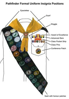 pictures of sda pathfinders honors | sda pathfinder uniform image search results