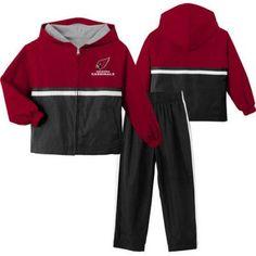 NFL Arizona Cardinals Toddler Windsuit, Toddler Boy's, Size: 4 Years, Red