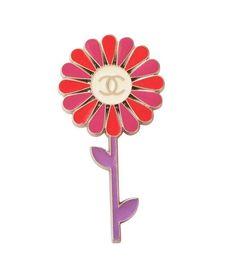 Chanel Flower Brooch on Chairish.com