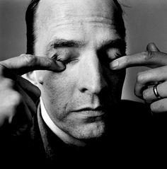 30 Extraordinary Black and White Portraits of Celebrities Taken by Irving Penn. Ingmar Bergman