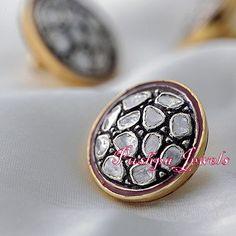 Diamond and Ruby Sherwani Buttons Set. | PRANSUKHLAL ...