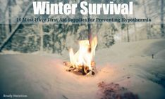 Winter Survival: 10 Must-Have First Aid Supplies for Preventing Hypothermia Bio Prepper