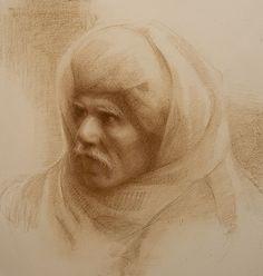 Susan LYON, dessin conté