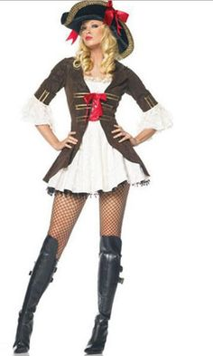 Aliexpress.com : Buy Hot Sale Cheap Pirate Costumes For Ladies 2013 Women Deluxe Halloween Cosplay Carnival Dress Wholesale Reatil from Reliable Frisky Gold Devil pirate fancy dress queen pirate adult costumes Carnival Halloween Women female Pirate costume Dress 2013 suppliers on C  F Halloween Fashion Store $20.99