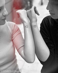 23 Cool Sibling Tattoos You Want Right Now 23 cool sibling tattoos you want right now – Frisurenx. Sibling Tattoos, Couple Tattoos, Tattoos For Guys, Tattoo For Son, Tattoo You, Dainty Tattoos, Unique Tattoos, Heart Outline Tattoo, Friend Tattoos Small