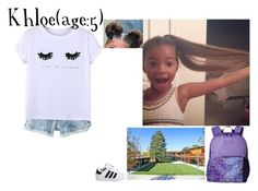 """Khloe//1-17-17//School"" by dream-families ❤ liked on Polyvore featuring Chicnova Fashion, adidas Originals, Vera Bradley and TheLockLearFamily"