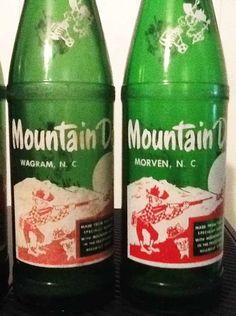 Rare town named dew bottles! Wagram, N.C. and Morven, N.C.