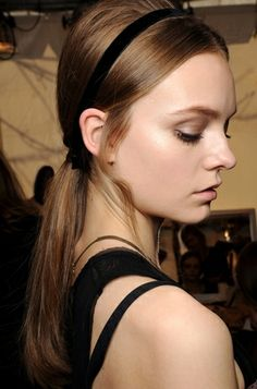 Fall Winter Fall Ponytail Hairstyle